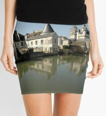 Indres River Reflections, Loches, France 2012 Mini Skirt