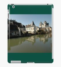 Indres River Reflections, Loches, France 2012 iPad Case/Skin