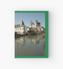 Indres River Reflections, Loches, France 2012 Hardcover Journal