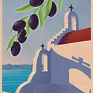 Vintage Greek Olive Oil Advertisement by mitchfrey