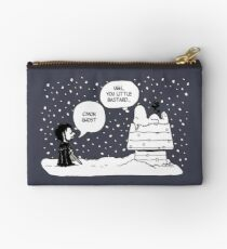 Charlie Snow/Jon Brown and his dog/Direwolf Studio Pouch