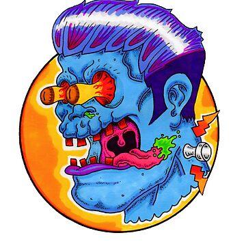 Freaky Frankie (Blue Variant) by mfdeshonga