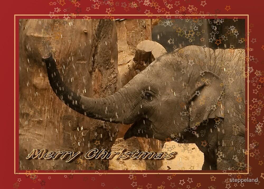 Little elephant stars - Merry Christmas by steppeland