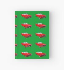 1965 Red Ford Mustang Convertible Hardcover Journal