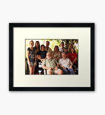 Parkes Family Framed Print