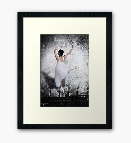 The Steel Dance Framed Print