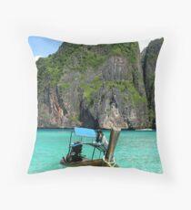 Maya Bay Magic Throw Pillow