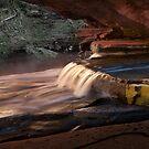 waterfall by Sheldon Pettit