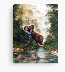 Welfare Bear Canvas Print