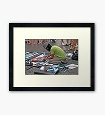 Aerosol Artist Framed Print