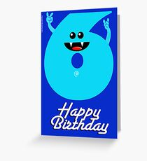 HAPPY BIRTHDAY 6 Greeting Card
