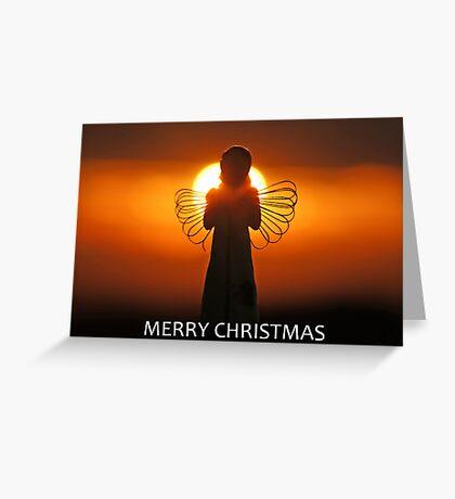 Merry Christmas Angel Greeting Card