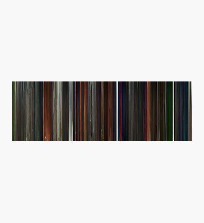 Moviebarcode: Coraline (2009) Photographic Print