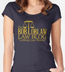 The Bob Loblaw Low Blog Women's Fitted Scoop T-Shirt