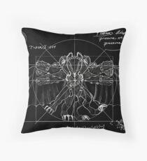 Vetruvian Songbird Throw Pillow