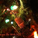"""May Peace Be With You Card by Christine """"Xine"""" Segalas"""