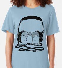 THR33 LIL' BIRDS Slim Fit T-Shirt