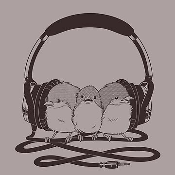 THR33 LIL' BIRDS by laurengramprey
