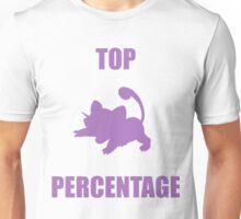 Ratatta: TOP PERCENTAGE (Purple) Unisex T-Shirt