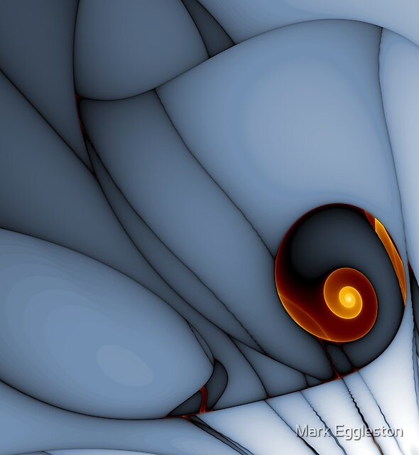 Spiral and Wobbly Lines by Mark Eggleston