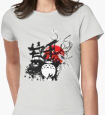 Japan Spirits Women's Fitted T-Shirt