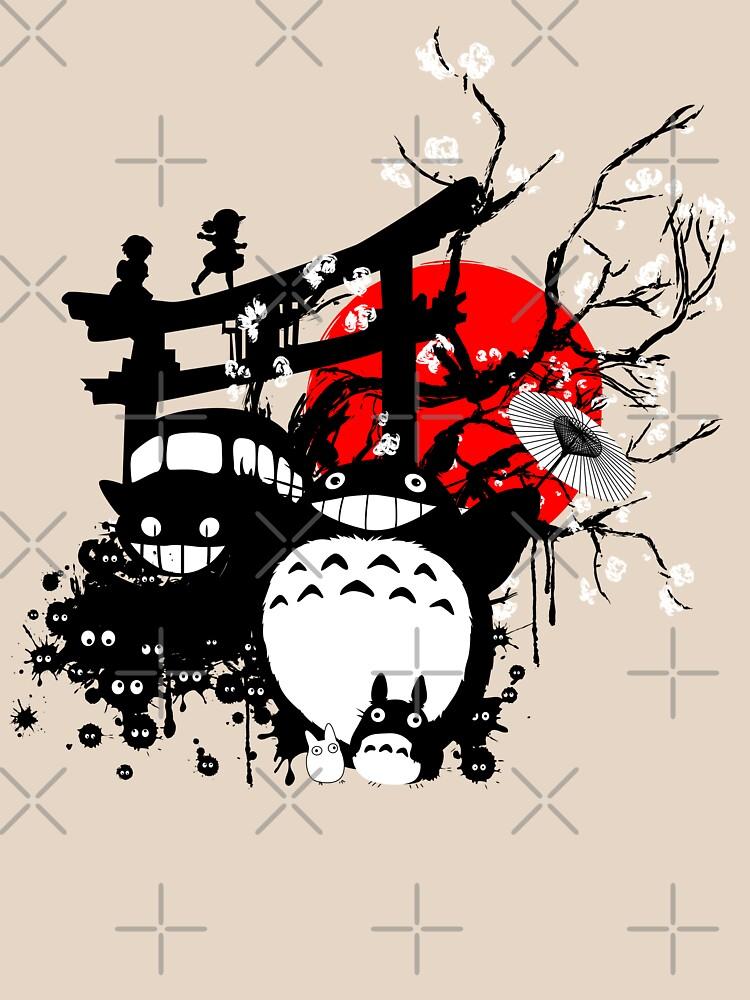 Espíritus de Japón de THEILO
