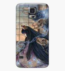 Unmasked - Kitsune Fox Yokai Skull Case/Skin for Samsung Galaxy