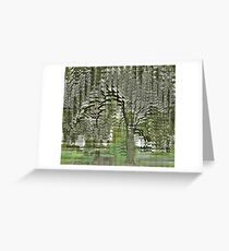 Indian Bean Tree, Kew Gardens Greeting Card