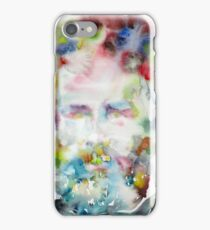HERMAN MELVILLE - watercolor portrait.5 iPhone Case/Skin