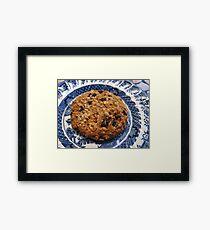 Crunchy Cookie - Tasty Treat Framed Print
