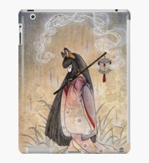 Bad Thoughts - Kitsune Fox Yokai  iPad Case/Skin
