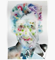 GEORGE ORWELL - watercolor portrait.5 Poster