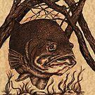 Largemouth Bass by Kathleen Kelly-Thompson
