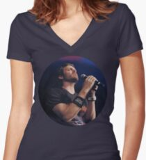 Rob Benedict Women's Fitted V-Neck T-Shirt