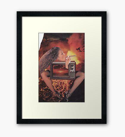 ' Take a Rip ' Framed Print