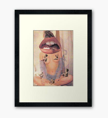 ' Feed Me ' Framed Print