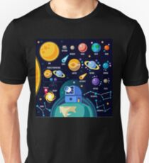 Space Universe Solar Big Bang Unisex T-Shirt