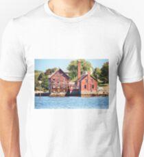 Abandoned Seaside Factory T-Shirt