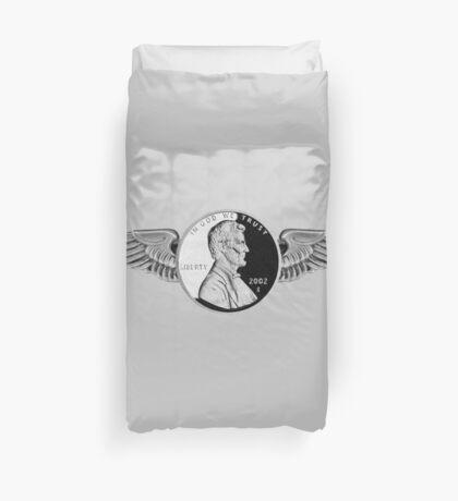 flying penny Duvet Cover