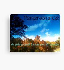 Perserverance Canvas Print