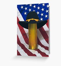 Cavalry Stetson Greeting Card