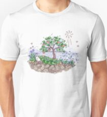Gaia with outback persimmon tree T-Shirt