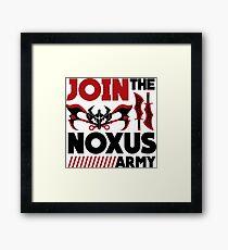 Noxus army Framed Print