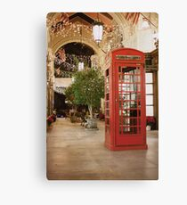 Inspector Spacetime! Canvas Print
