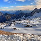 Mountain Wetterstein by Daidalos