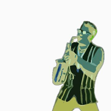Inverse Epic Sax Guy by Wanglepop