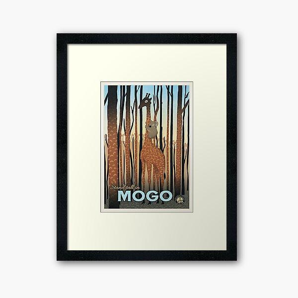 Mogo Framed Art Print