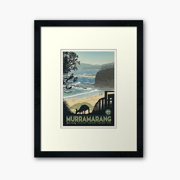Murramarang Framed Art Print