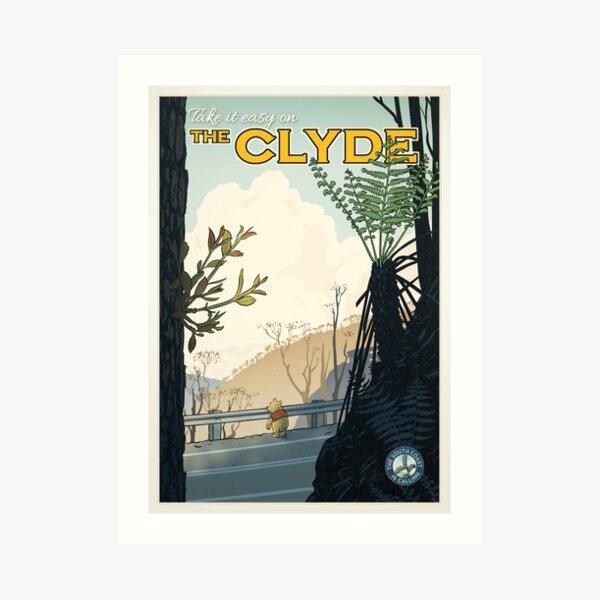 The Clyde Art Print