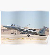 AF 78-0473 F-15C Eagle Landing Poster
